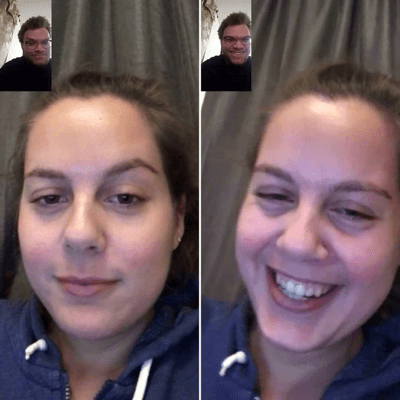 video chat with family