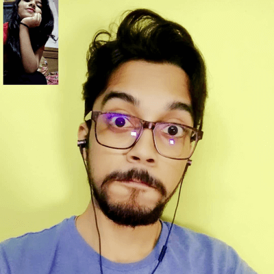video chat time with loved one